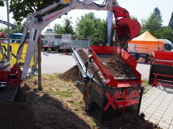 XAVA Recycling Rüttelsieb LS12