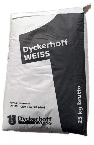 Dyckerhoff Weißzement Weiß CEM I 42,5/R