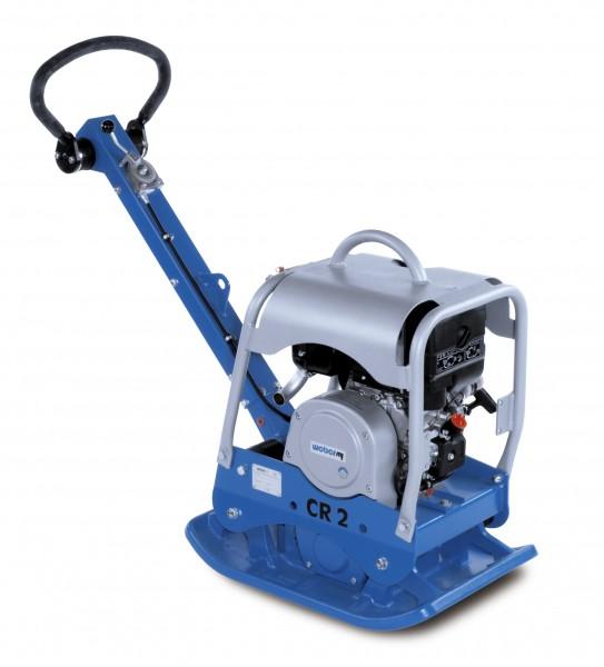 Weber MT CR 2 Hd Rüttelplatte 143kg reversierbar Vor und Rücklauf Vibrationsplatte mit Zubehör