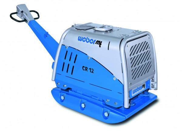 Weber MT CR 12 Rüttelplatte 900kg reversierbar E-Start Vor und Rücklauf Vibrationsplatte mit Zubehör