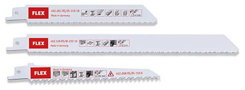 Säbelsägeblatt-Sortiment für Kunststoff/Holz/Metall RS/Bi Set VE3