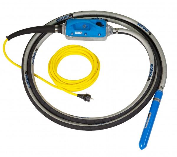 Weber MT IVUR 40 Beton-Verdichter mit 230V Anschluss Hochfrequenz-Innenvibrator