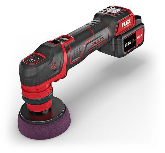 PXE 80 10.8-EC/2.5 P-Set Der smarte Akku-Polierer 10,8 V, rotativ und exzentrisch freilaufend 469.07
