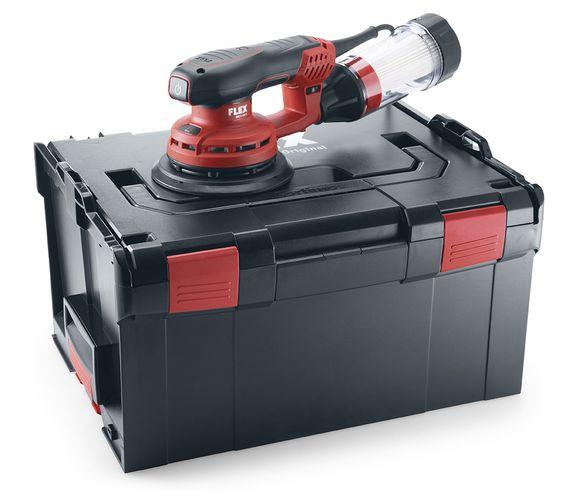 ORE 3-150 EC Set Leistungsstarker Exzenterschleifer mit Drehzahlregelung, 150 mm 486.809