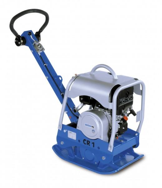 Weber MT CR 1 L Rüttelplatte 118kg reversierbar Vor und Rücklauf Vibrationsplatte mit Zubehör