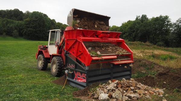 XAVA Recycling Rüttelsieb LS24