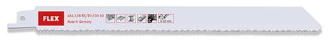 Säbelsägeblätter für Metall, Holz, Kunststoffe RS/Bi-230 10 VE5