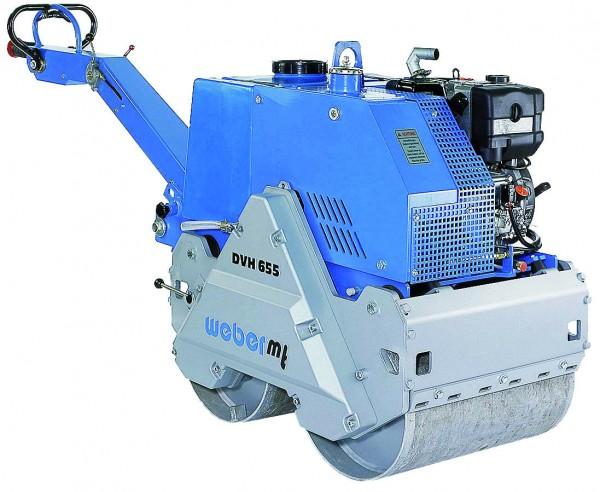Weber MT Duplex Vibrationswalze DVH 655 E mit 732kg
