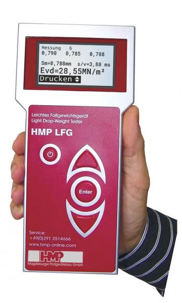 Leichtes Fallgewichtsgerät HMP LFGpro mit Drucker