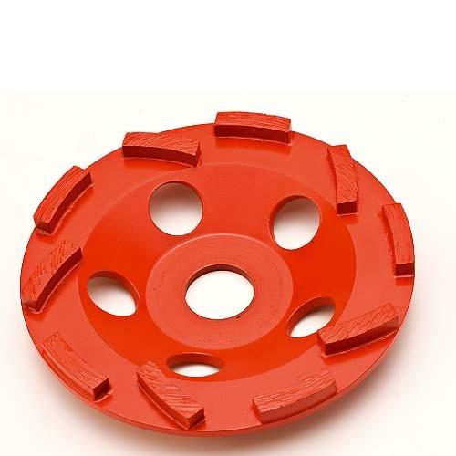 Collomix Diamant-Schleifscheibe CGD-125-S, Durchmesser 125 mm, 10 Segmente