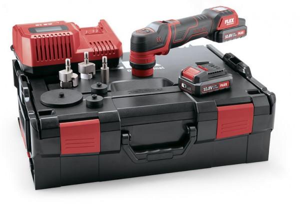 PXE 80 10.8-EC/2.5 Set Der smarte Akku-Polierer 10,8 V, rotativ und exzentrisch freilaufend 418.102